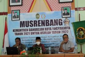 Musyawarah Rencana Pembangunan (MUSRENBANG) Usulan 2022 Kemantren Danurejan Kota Yogyakarta