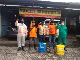 Forum KTB Kemantren Danurejan Mengadakan Kegiatan Penegakan Protokol Kesehatan
