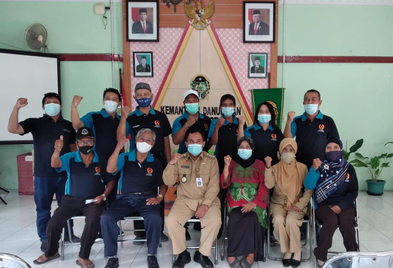 Kunjungan  Kepengurusan Komite Olahraga Nasional Indonesia (KONI Kota Yogyakarta) ke Kemantren Danurejan